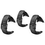 Suunto Core ALL Black Light Elastomer Strap-3-Pack Core Light Elastome
