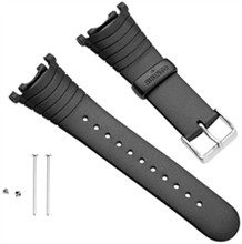 Suunto Watch Straps  suunto vector elastomer strap kit black