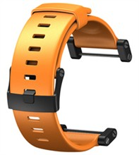 Suunto Core Accessories suunto core flat elastomer strap orange