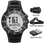 Suunto Quest Running Pack Black Sports Fitness Watch W/hrm