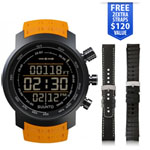 Suunto Elementum Terra - Amber Rubber Premium Sports Watch